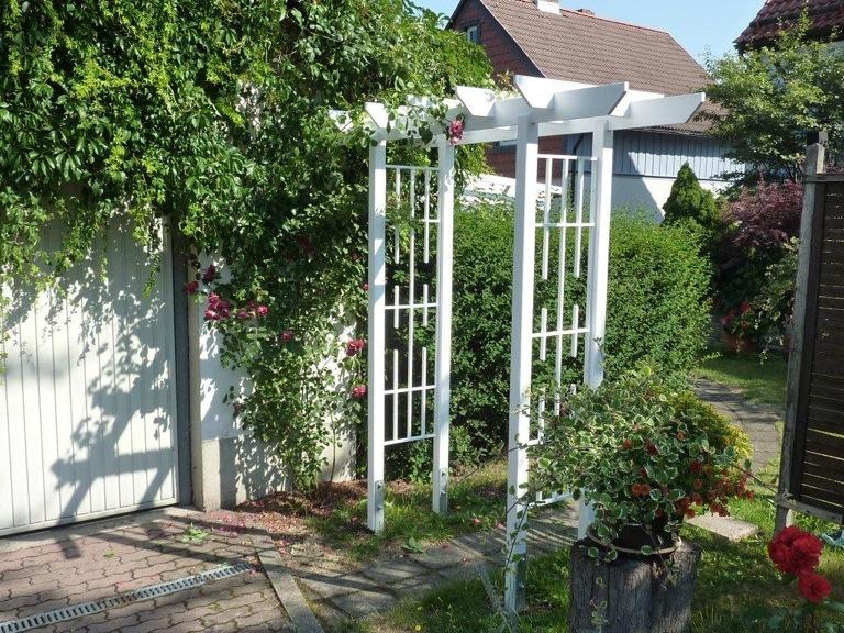 holz rosenbogen pergola tor flora rosenspalier. Black Bedroom Furniture Sets. Home Design Ideas