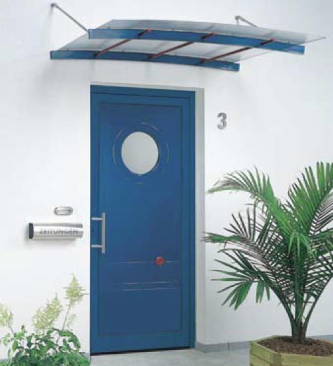 vordach versco ma1 alu aluminium acrylglas vordach f r haust ren glas vord cher f r ihre. Black Bedroom Furniture Sets. Home Design Ideas