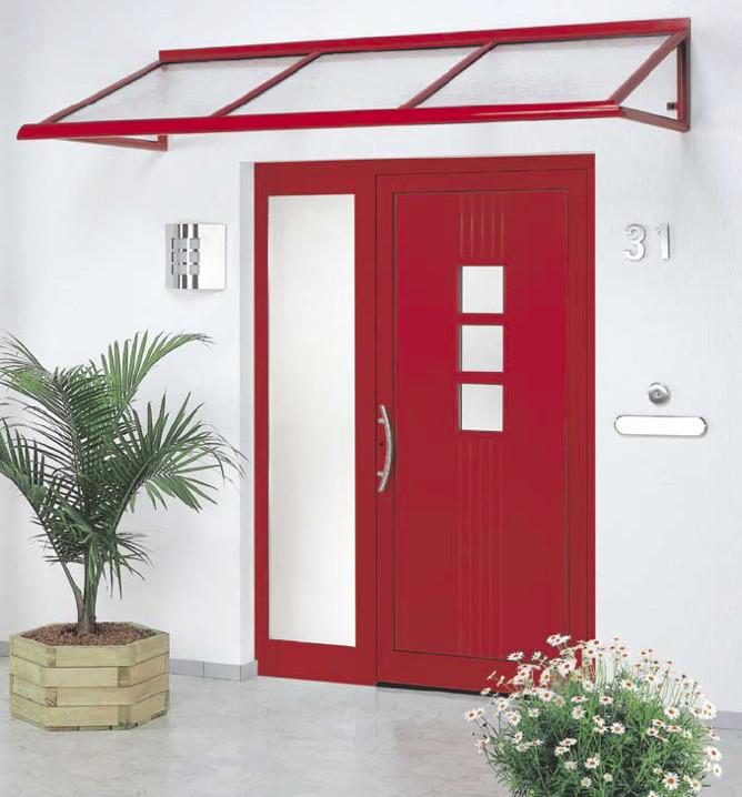 Vordach Versco Rohrdach RD02 Vordach für Haustüren