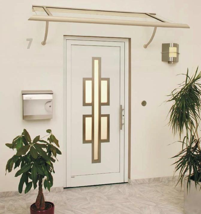 Vordach Versco Rohrdach RD07 B1500 Vordach für Haustüren