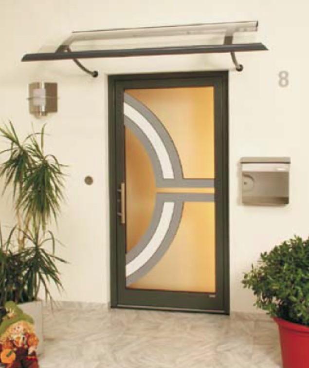 Vordach Versco «Rohrdach RD08 B2500» Vordach Für Haustüren