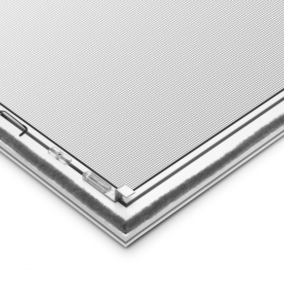 fenster insektenschutz spannrahmens au en winkel festrahmen metall alu profil. Black Bedroom Furniture Sets. Home Design Ideas