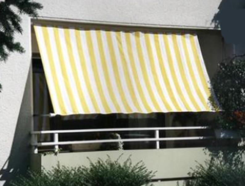 balkon sonnensegel 270x140 cm sonnenschutz in. Black Bedroom Furniture Sets. Home Design Ideas