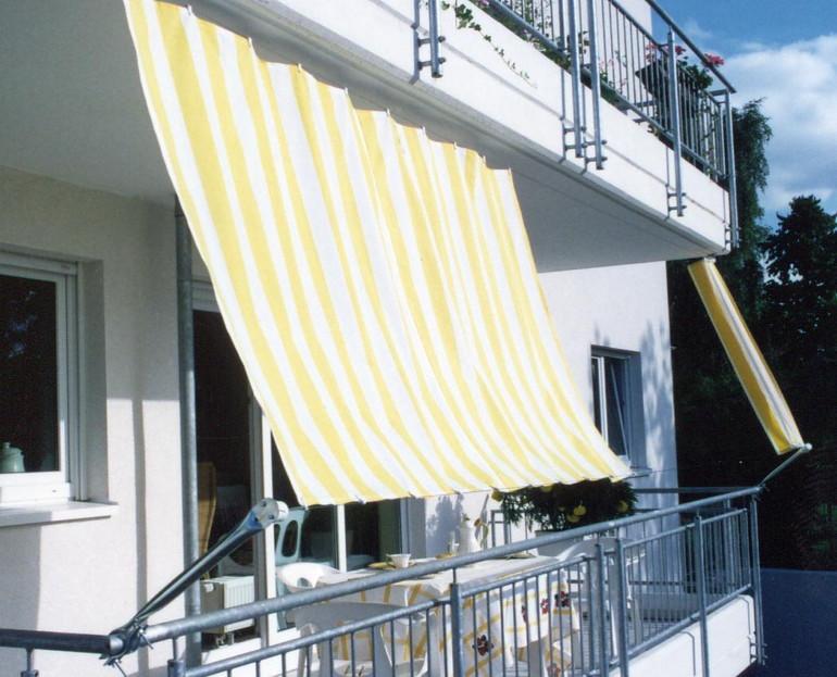 seilspannsystem f r sonnensegel bausatz balkon ii. Black Bedroom Furniture Sets. Home Design Ideas